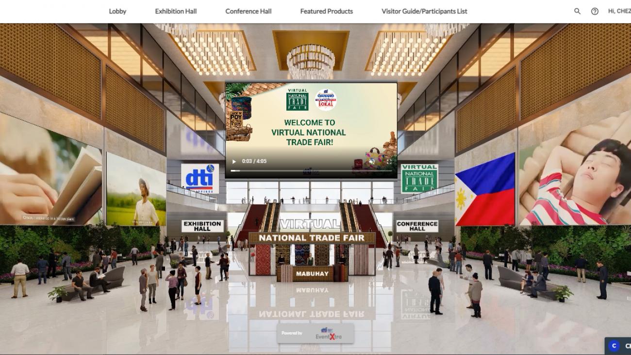 DTI Virtual National Trade Fair VX 2021